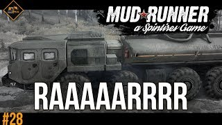 NOW THAT'S A TRUCK | Spintires Mudrunner co-op multiplayer gameplay #28
