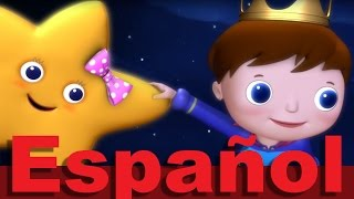 Estrellita, ¿dónde estás? - LittleBabyBum Canciones infantiles HD 3D (Twinkle Twinkle in Spanish)