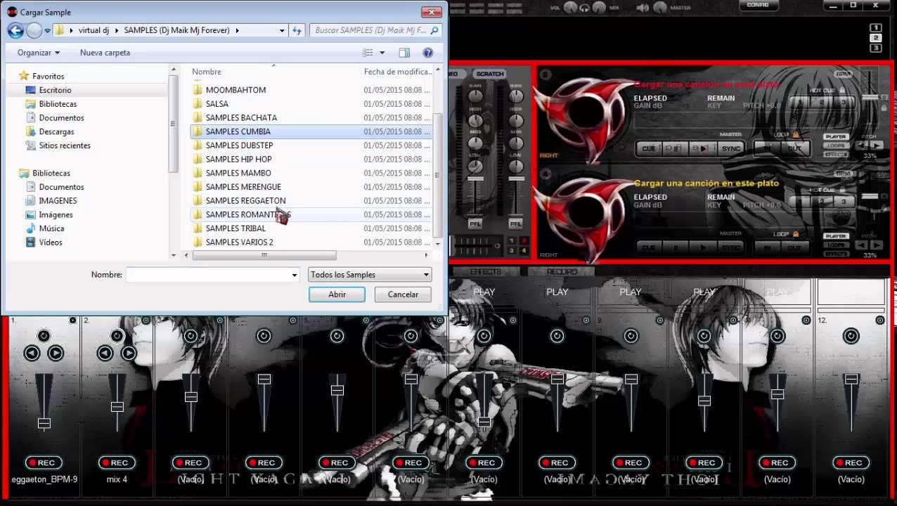 efectos dj virtual