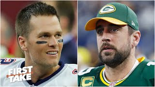 Tom Brady vs. Aaron Rodgers: Which QB deserves the higher Madden rating? | First Take