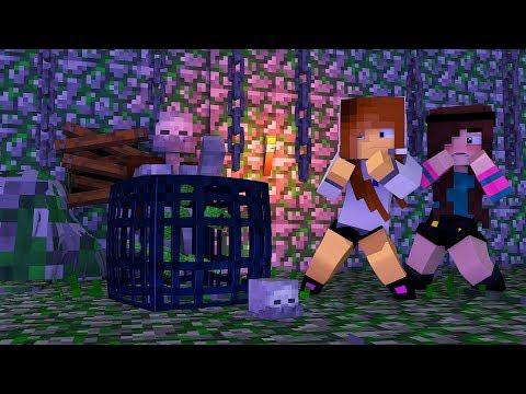 Minecraft: FAZENDINHA #23 - ENCONTRAMOS UMA DUNGEON! | BIBI |
