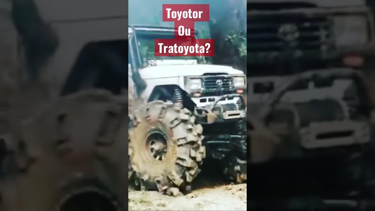 TRATOYOTA ou TOYOTOR?? E aí que nome daria??
