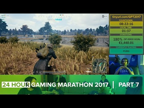 24 HOUR GAMING MARATHON 2017 [Part 7 of 11] (Charity Stream)