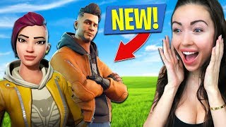 *NEW SKIN* DUO'S w/ PRO FORTNITE PLAYER!! (Fortnite Battle Royale)