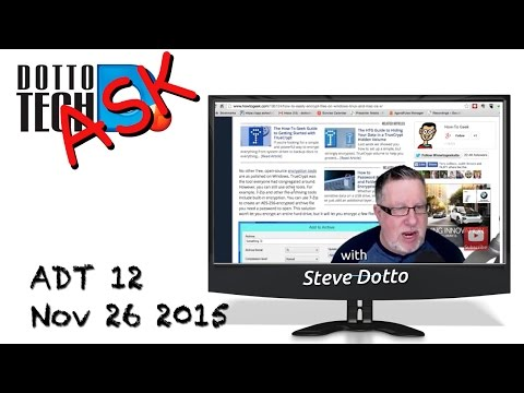 Ask Dotto Tech 12 - How To Record Screencasting Videos