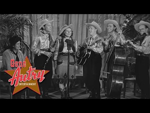 Pals of the Golden West & Smiley Burnette - Rocky Mountain Express (from Rovin' Tumbleweeds 1939)