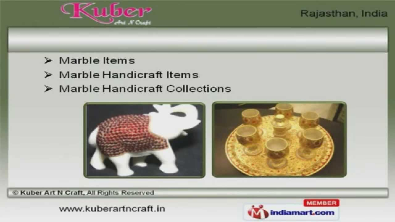 Designer Handicraft Items By Kuber Art N Craft Jaipur Youtube