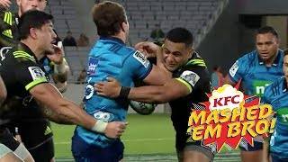 Mashed Em Bro #3 | Blues Rugby Hits & Smashes 2018 - brought to you by KFC