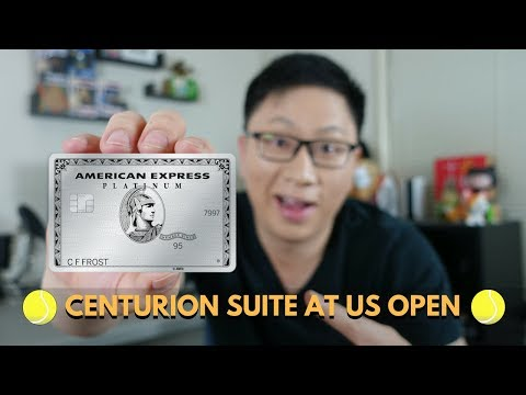 Amex Centurion Suite At US Open & Other Perks
