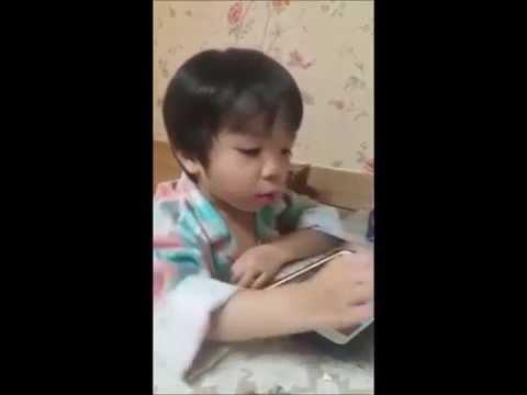 เด็กเกาหลีร้องเพลงไทย