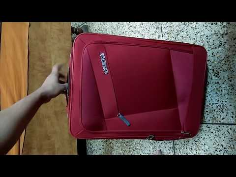 American Tourister Elegance Plus Expandable Cabin Luggage - 22 Inch  (Red)