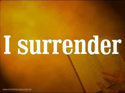 Hillsong Live - Cornerstone - Track 04 - I Surrender (+LYRICS)