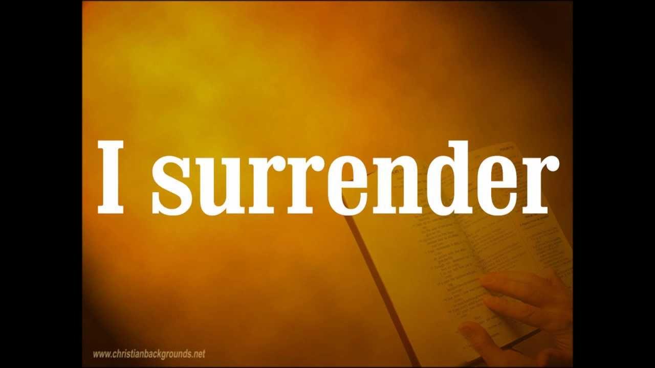 Hillsong Live - Cornerstone - Track 04 - I Surrender ...
