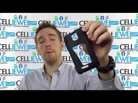 CellJewel.com - ZTE Engage Black Skin/Blue Hybrid Skin/Snap Case