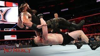 Brock Lesnar takes Braun Strowman to Suplex City WWE No Mercy 2017 WWE Network Exclusive