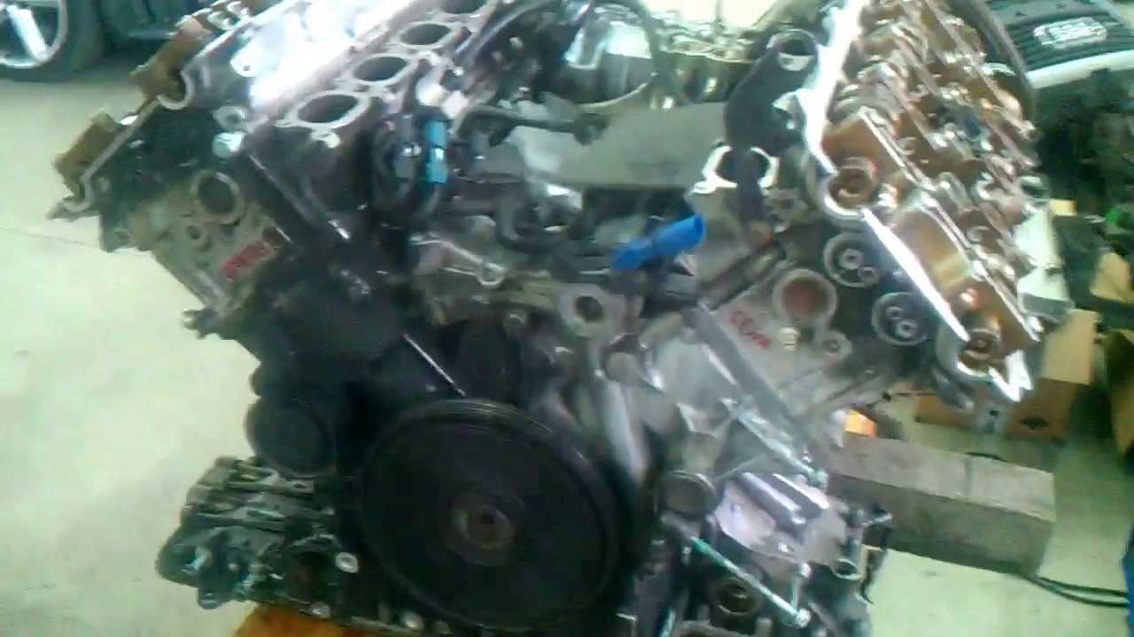 ENGINE AUDI 42 V8 CAMSHAFT  YouTube