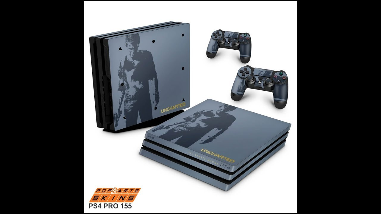 Ps4 Pro Skin Uncharted 4 Limited Edition Youtube