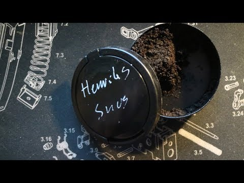 Hagges cooking show: SNUS, Swedish wet tobacco
