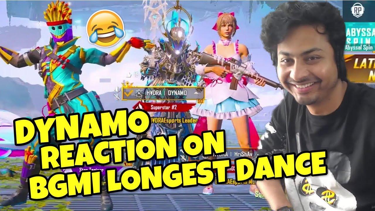 Dynamo Doing BGMI Longest Dance 😂 #Shorts