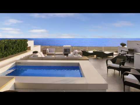 Modern Oceanfront $12,000,000 Mansion