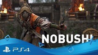 For Honor | Hero Series: The Nobushi Samurai Gameplay Trailer | PS4