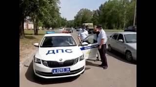 В Воронеже инспекторы ГИБДД устроили охоту на тонированные автомобили