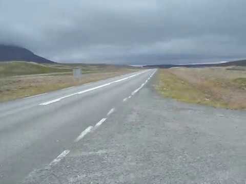 Wind outside Herganes, Iceland (2011 Cycling Tour)