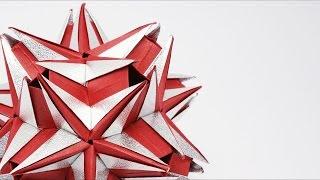 ORIGAMI KUSUDAMA JACIARA (Ekaterina Lukasheva) - ASSEMBLY TIME-LAPSE
