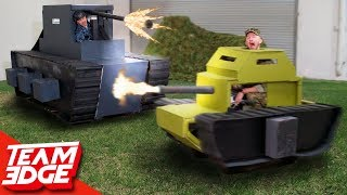Epic Mini Tank Battle  Destroy The Giant Tank