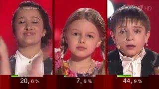 Данил Плужников стал  Победитель Голос Дети 3 2016