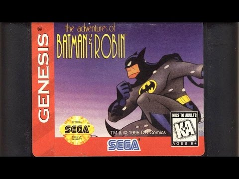 CGR Undertow - THE ADVENTURES OF BATMAN & ROBIN review for Sega Genesis thumbnail