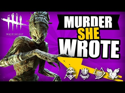 Murder She Wrote | THE HAG Gameplay | Dead By Daylight Gaming
