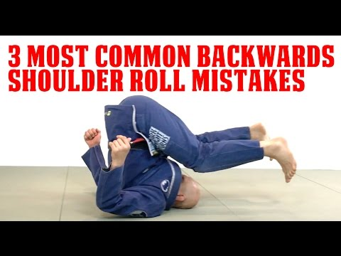 3 Most Common Backwards Shoulder Roll Mistakes