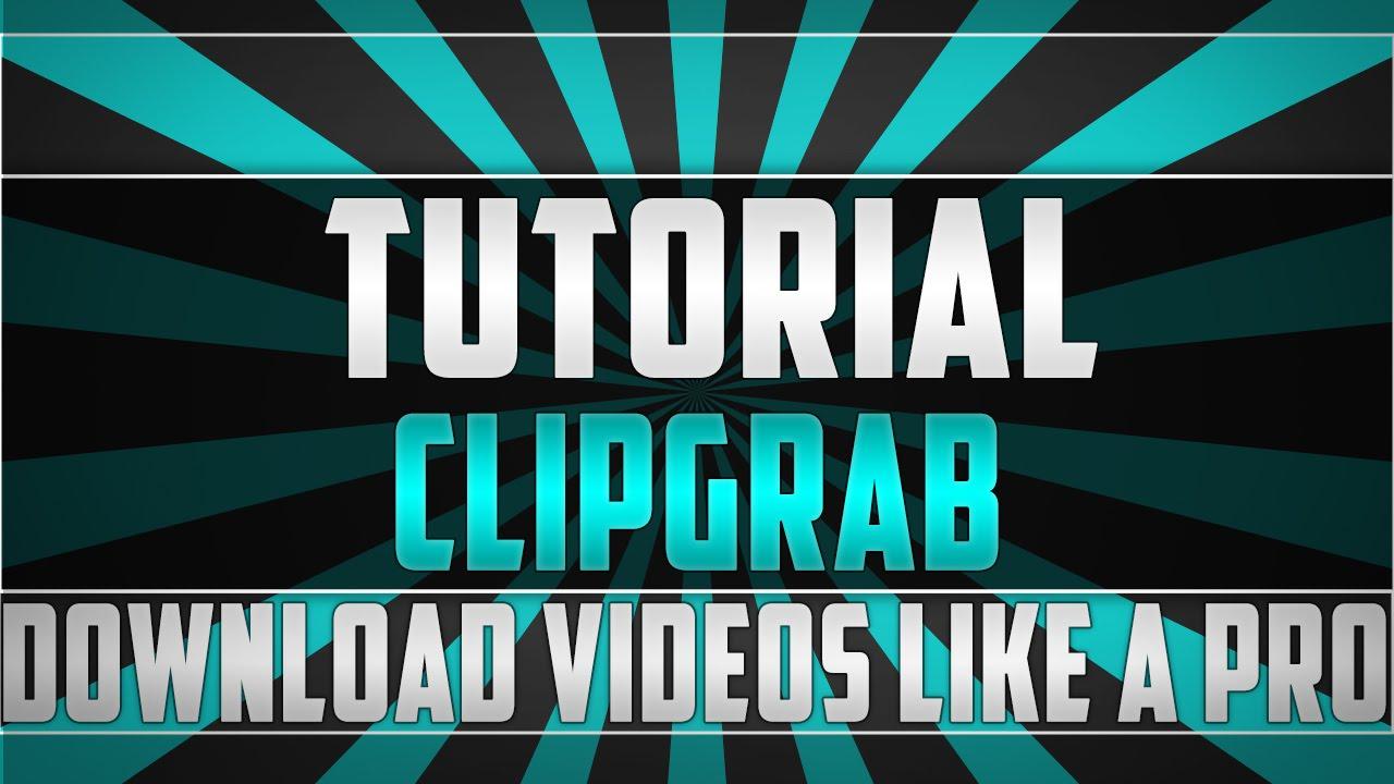 ClipGrab 3 4 11 Tutorial   Windows 7   HD   1080p