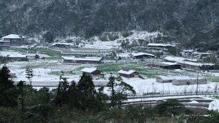 2016陽明山雪景