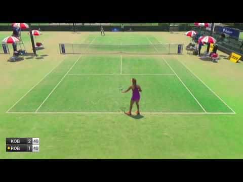 Kobori Momoko v Robson Laura - 2017 ITF Kurume