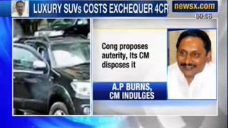 Gambar cover Andhra Pradesh CM Kiran Kumar Reddy buys Luxury SUVs for his convoy - NewsX