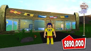 I MADE a SPONGE BOB RESTAURANT in BLOXBURG-Roblox adventure #17
