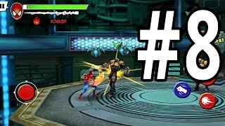 Ultimate Spider-Man: Total Mayhem | iPhone | Gameplay Walkthrough Part 8: Denies Security Lapse