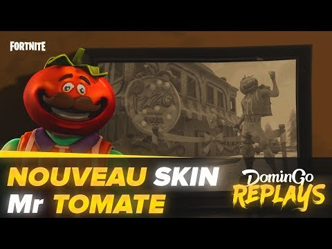 Nouveau Skin : Monsieur Tomate ! (Fortnite - Solo vs Squad)