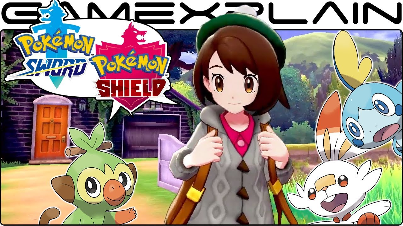 Pokemon Sword Shield Reveal Discussion New Starters Uk Inspired