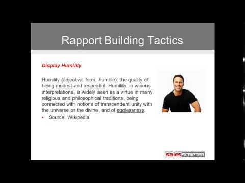 Sales Prospecting 101 - Module 8: Building Rapport, Interest, and Credibility