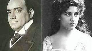 Enrico Caruso & Geraldine Farrar - Faust : Il Se Fait Tard; Eternelle! (Gounod)