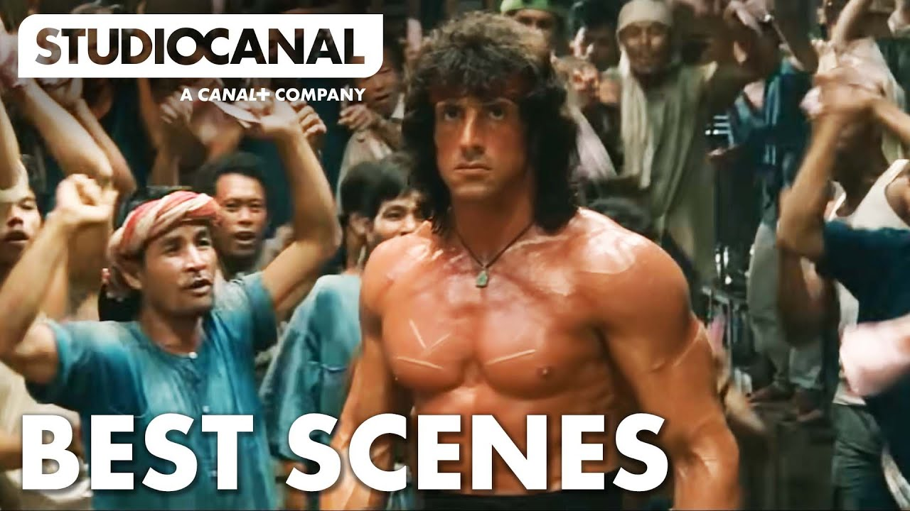 Download TOP SCENES FROM RAMBO III - Starring Sylvester Stallone