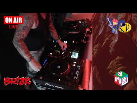 DJ Brisk live stream, December 18th 2016