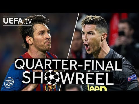 The best MESSI and RONALDO goals in the #UCL Quarter-finals!!