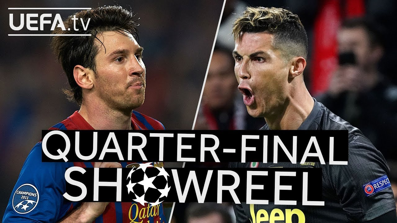 The Best Messi And Ronaldo Goals In The Ucl Quarter Finals Youtube