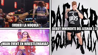 El nuevo Brock Lesnar debutará en este evento Mercedes Martinez recibe brutal patada