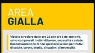 Regole zona gialla: em. romagna, friuli v. g., lazio, marche, molise, prov.trento, sardegna, veneto