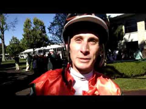 Tom Leach interviews jockey Joe Rocco, Jr. (Fall 2015)